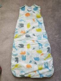 Baby gro sleeping bag 6-18 months