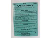 VOC free plaster sealer
