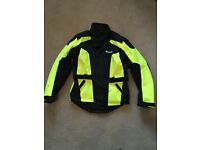 Weise High Viz Hornet 2 Waterproof Motorbike Jacket Medium