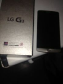 Lg G3 mobile phone locked to vodaphone , excellent condition only bought 2 months ago