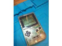 Nintendo Gameboy Pocket Transparent