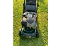 Hayter harrier 41 electric start variable speed rear roller mower