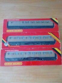 OO gauge trains