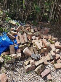 Free bricks hardcore rubble