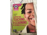 Level 3 Supporting Teaching and learning in Schools Textbook