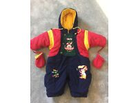 All in one baby suit 18 months, very good condition