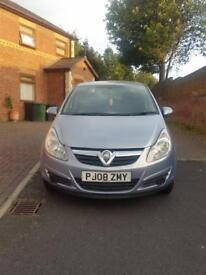 08 Vauxhall corsa 1.3 diesel 5 door blue 86000 mileage. Hpi clear