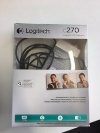 Brand new Logitech web camera