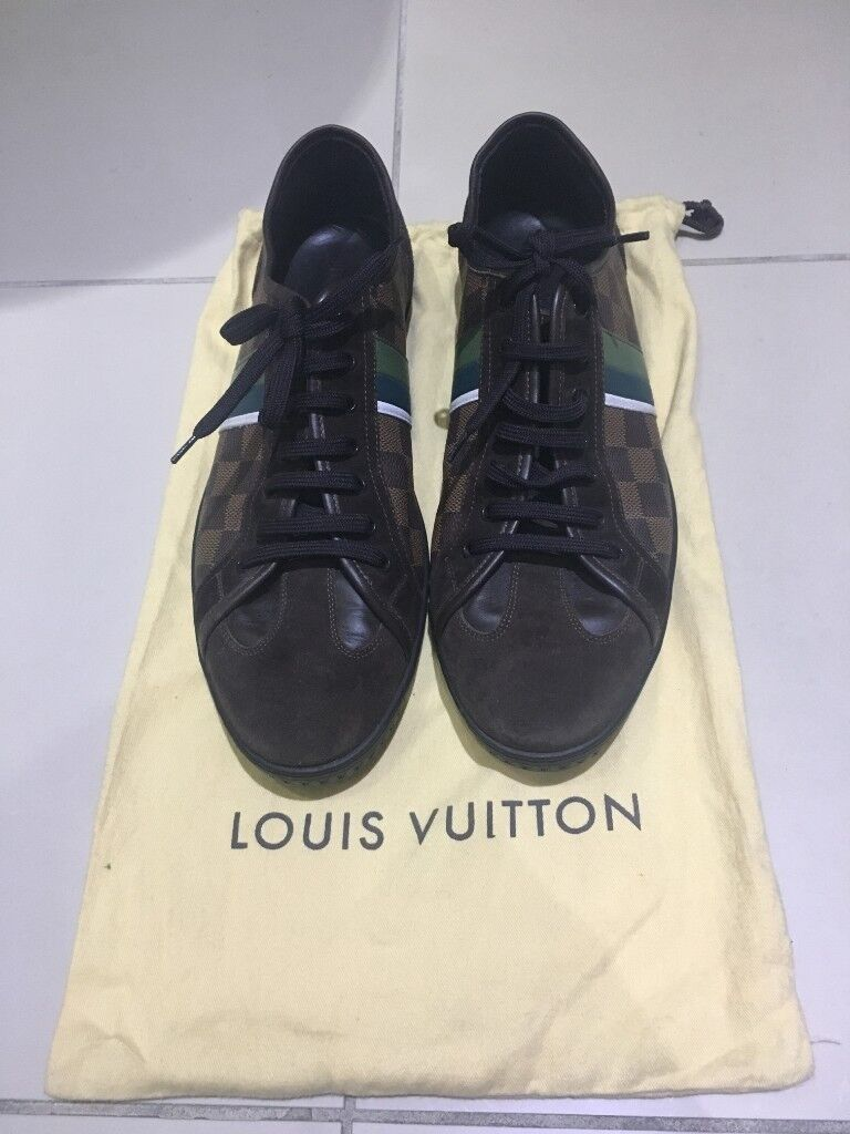 8256c6140a8e 100% authentic limited edition louis vuitton trainers sneakers shoes