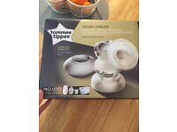 Tommee Tippee closer to nature electric breast pump still boxed and with guarantee