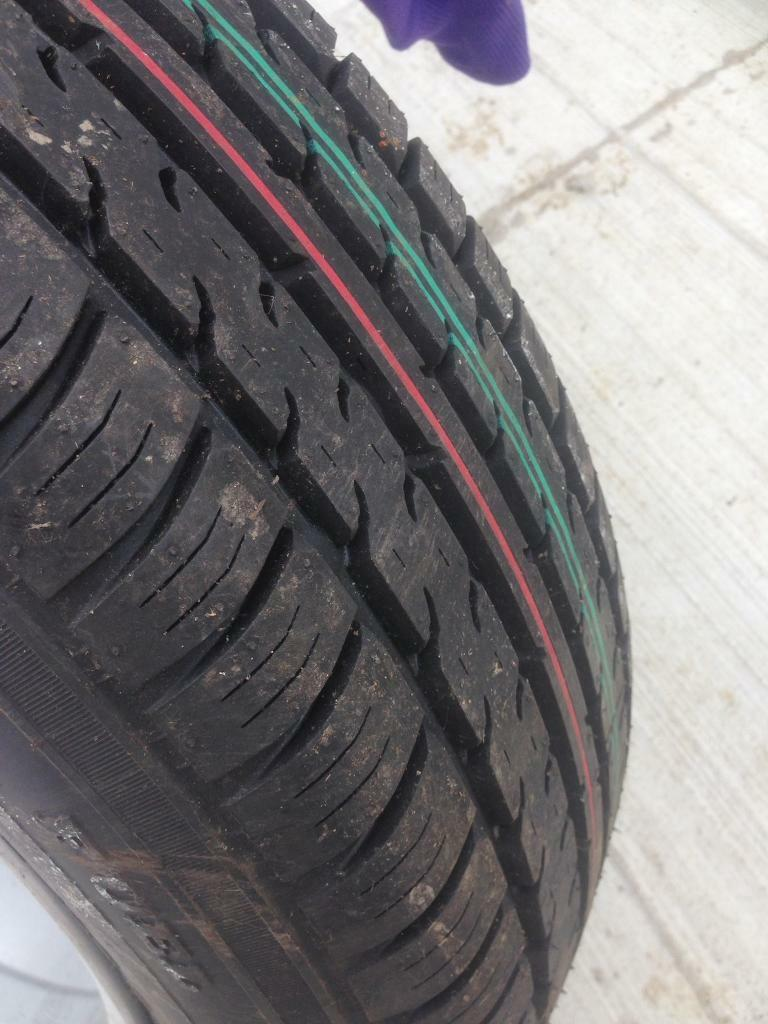 New Audi alloy and tyre
