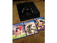PS4 Console 1TB & Games Package