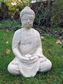 Large Meditating Stone Buddha
