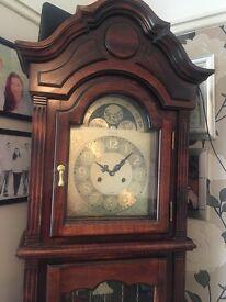 Lincoln grandfather clock, excellent condition