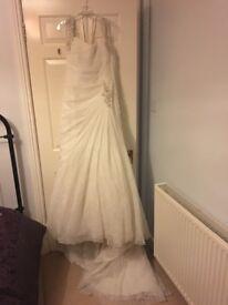 Sophia Tolli ivory wedding dress size 12