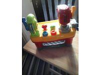 Childrens toy workbench