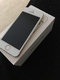 iPhone 5S- Unlocked- Gold