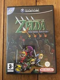 The Legend of Zelda: Four Swords Adventures Nintendo GameCube MINT Unused VIP points