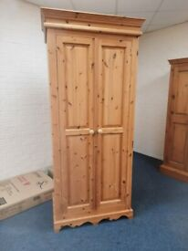 Tall Pine 2 Door Wardrobe