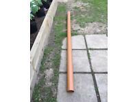 3m x 110mm drain pipe