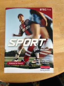 BTEC first sport edition