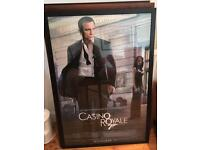 Original Casino Royale film poster £5