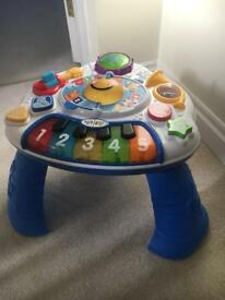 Baby Einstein discovery activity table
