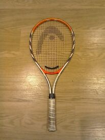 Adult head tennis racquet