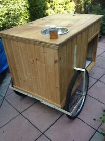 Catering bike trailer/street Food Cart / Coffee/market stall