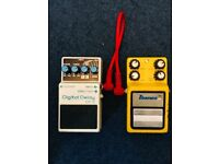 Guitar pedals - Vintage Delay and Flanger