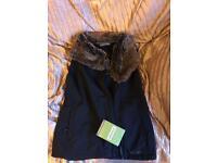 Ayacoucho fur collar jacket - tags still on