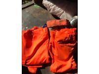 Hi vis work trousers