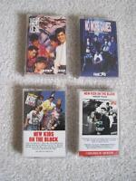 cassette tapes   NEW KIDS ON THE BLOCK