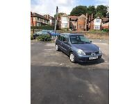 RENAULT CLIO 1.2 2007 BLUE MANUAL **IDEAL FIRST CAR** VERY LOW MILEAGE**