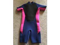 Next Girls wetsuit - Age 9-10