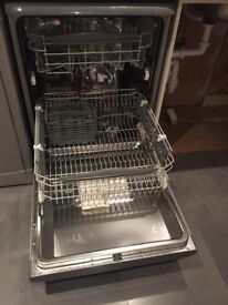 Hotpoint Aquarius grey dishwasher