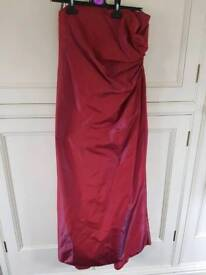 Dorothy Perkins evening dress size 12 petite BNWT