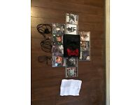 Sony PlayStation 3 500gb Mod menu 2 pads and 11 games also power plug and charging wire and mic