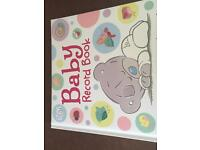 NEW!! Baby Record Book Tatty Teddy
