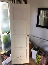 1930's solid wood door