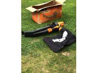 Iworx leaf blower / vacuum