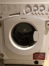 Integrated Hotpoint Washing Machine