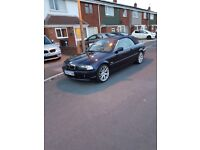 Bmw 330ci for sale look to sell as need a bigger car and the car runs sweet