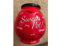 Novelty porcelain swear jar