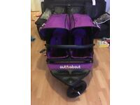 Out and about nipper double pushchair v4
