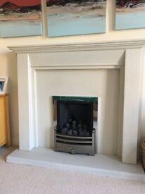 Fireplace & gas fire