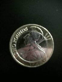 Collectable £2 coin
