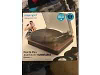 Bluetooth vinyl turntable