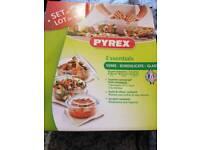 Pyrex dish