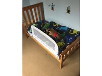 Mothercare Jamestown dresser and cot bed